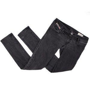 Diesel Matic 008iE Skinny Jeans Grey Black Slim 26